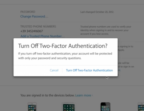Apple iOS 10.3 Beta Users Report Push Notification To Enable Two-factor Authentication