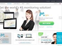 mSpy home page