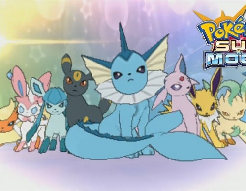 Pokemon Sun And Moon Guide Evolving Eevee To Leafeon, Sylveon And Glaceon