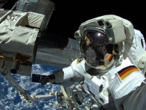 German Astronaut Alexander Gerst Aboard The International Space Station