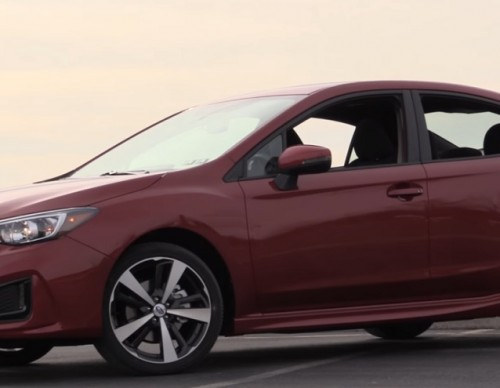 Subaru Targets Millennials With Its 2017 Impreza
