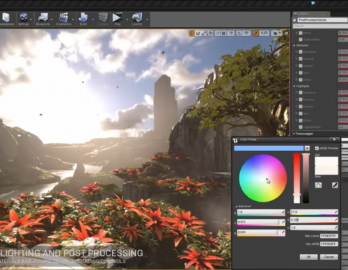 GDC 2017: Epic Games Showcases Latest Additions To Unreal VR Editor, Targets April 17 Release
