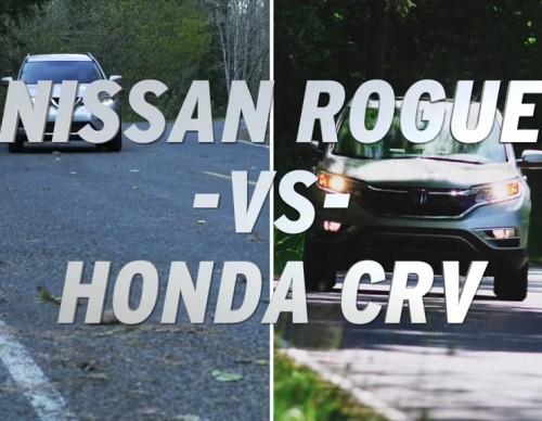 Crossover Showdown: 2017 Honda CR-V vs 2017 Nissan Rogue