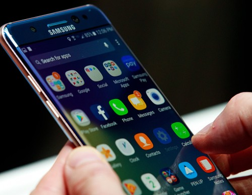 Samsung Unveils Its New Galaxy Note 7