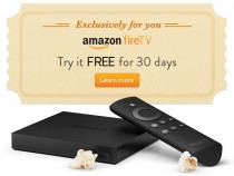 Amazon Fire TV 30-day free trial promotional offer