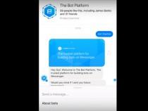 Facebook's updated Messenger menu