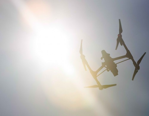 Drone Racing Event Held On New York City's Governors Island