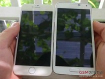 iPhone 6 (left) and Samsung Galaxy S5 (right) comparison shot