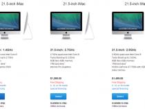 Apple launches new iMac model (left)