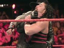Bone-chilling slow-motion video of Roman Reigns' face-off with The Undertaker