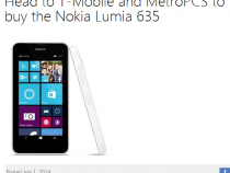 Nokia Lumia 635 launching on T-Mobile and MetroPCS