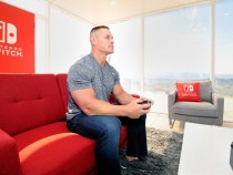 Nintendo Switch In Unexpected Places With John Cena