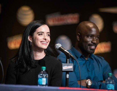 Netflix Presents The Casts Of Marvel's Daredevil And Marvel's Jessica Jones At New York Comic-Con