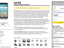 Sprint LG G3 already in stock