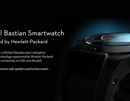 HP Smartwatch by Michael Bastian
