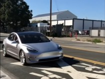 Tesla Model 3 Prototype Finally Hits The Road; Details Inside