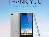 Xiaomi Mi 3 sells out in two seconds in India