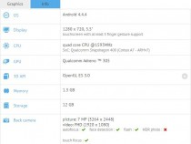 Samsung SM-G739F phablet on GFXBench