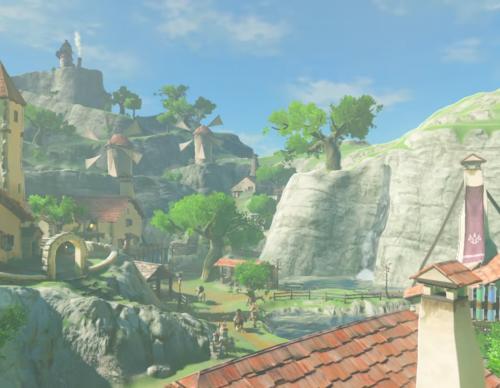 Zelda: Breath Of The Wild Guide To Building Tarrey Town