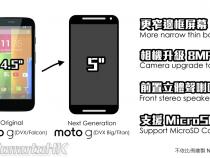 Moto G2 leak