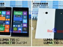 Nokia Lumia 735 leaks alongside Lumia 730