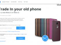 Motorola trade-in program