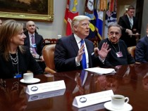 President Trump Meets With Automobile Industry Leaders