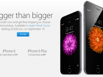 iPhone 6, iPhone 6 Plus up for pre-order on Apple Store
