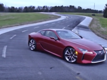 Lexus LC Coupe Is 2016's Best Looking Car, Details Inside