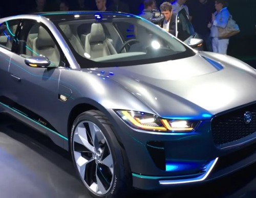 Jaguar's I-Pace Concept Car Hits the Streets of London; Testers Give Their Feedback