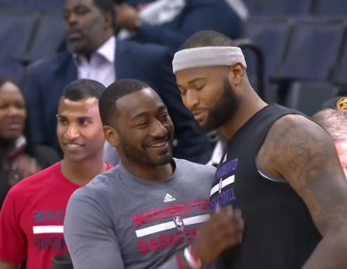 John Wall Says DeMarcus Cousins May Play Again With Washington Wizards As Cousins Sits Out Game Against Rockets
