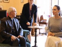 Angelina Jolie leaves fans shocked after meeting with Archbishop of Canterbury