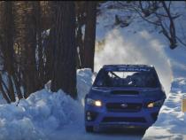 Subaru WRX STI On A Bobsled Run