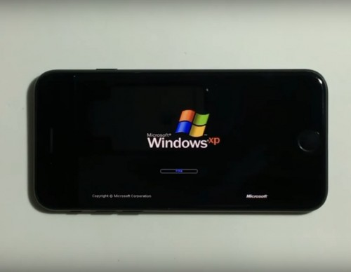 iPhone 7 And Windows XP's Unholy Union Is Real