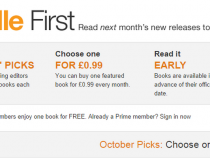 Amazon Kindle First service launches in the UK