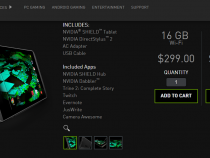 NVIDIA Shield tablet now available in 32GB, Wi-Fi + LTE model