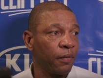Doc Rivers Interview after being Ejected in OT Loss to Brooklyn Nets