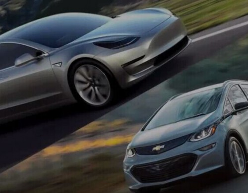Volvo's EV vs Tesla Model 3 vs Chevrolet's Bolt EV: Battle Of The Mighty EVs