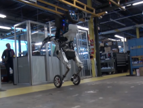 Boston Dynamics Shows Off Its New Wheeled Robot In An Official Video