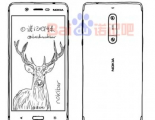 Upcoming Nokia Flagship Phone Leaked In Sketch, Reveals Dual Rear Camera