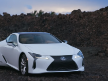 Flagship Lexus LC500 Features 471 hp High-Performance V8, 10-speed Automatic Transmission