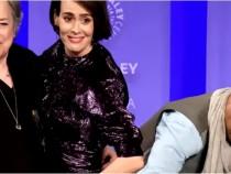 Cuba Gooding Jr. Lifts Up Sarah Paulson's Skirt at 'American Horror Story' PaleyFest Panel.