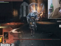 This Player Beats Dark Souls 3 Using Only A Steering Wheel As A Controller