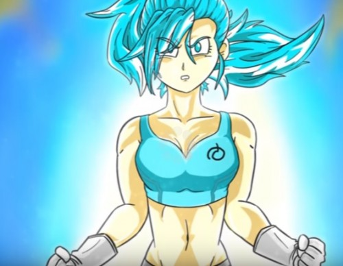 Super Saiyan Blue Bulla Theory Including Pan.