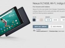HTC Nexus 9 on Google Play