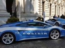 Lamborghini Huracan Polizia Will Make Crime Pay And Look Good Doing It