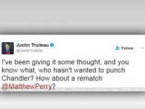 Justin Trudeau Challenges Matthew Perry For A Rematch; Here's Why