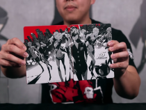 Persona 5 Steelbook Edition Has A Special Effect Alluding To The Game