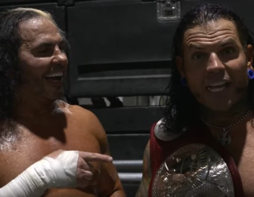 Jeff and Matt Hardy are proud to be back home in WWE