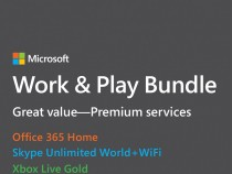 Microsoft Work & Play Bundle for $199